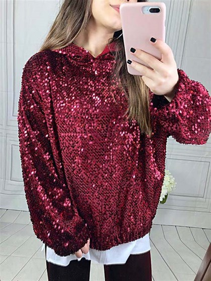 Pul Payet Sweatshirt-Bordo